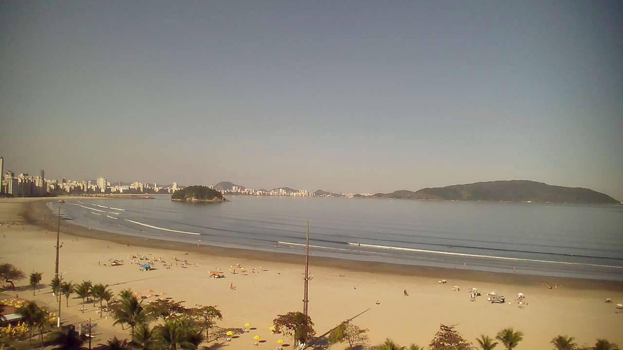 Camera Ao Vivo Praia Do Itarar 233 S 227 O Vicente Sp
